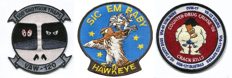 Illustration for article titled Show Us The Coolest Naval Aviation Patches Of All Time