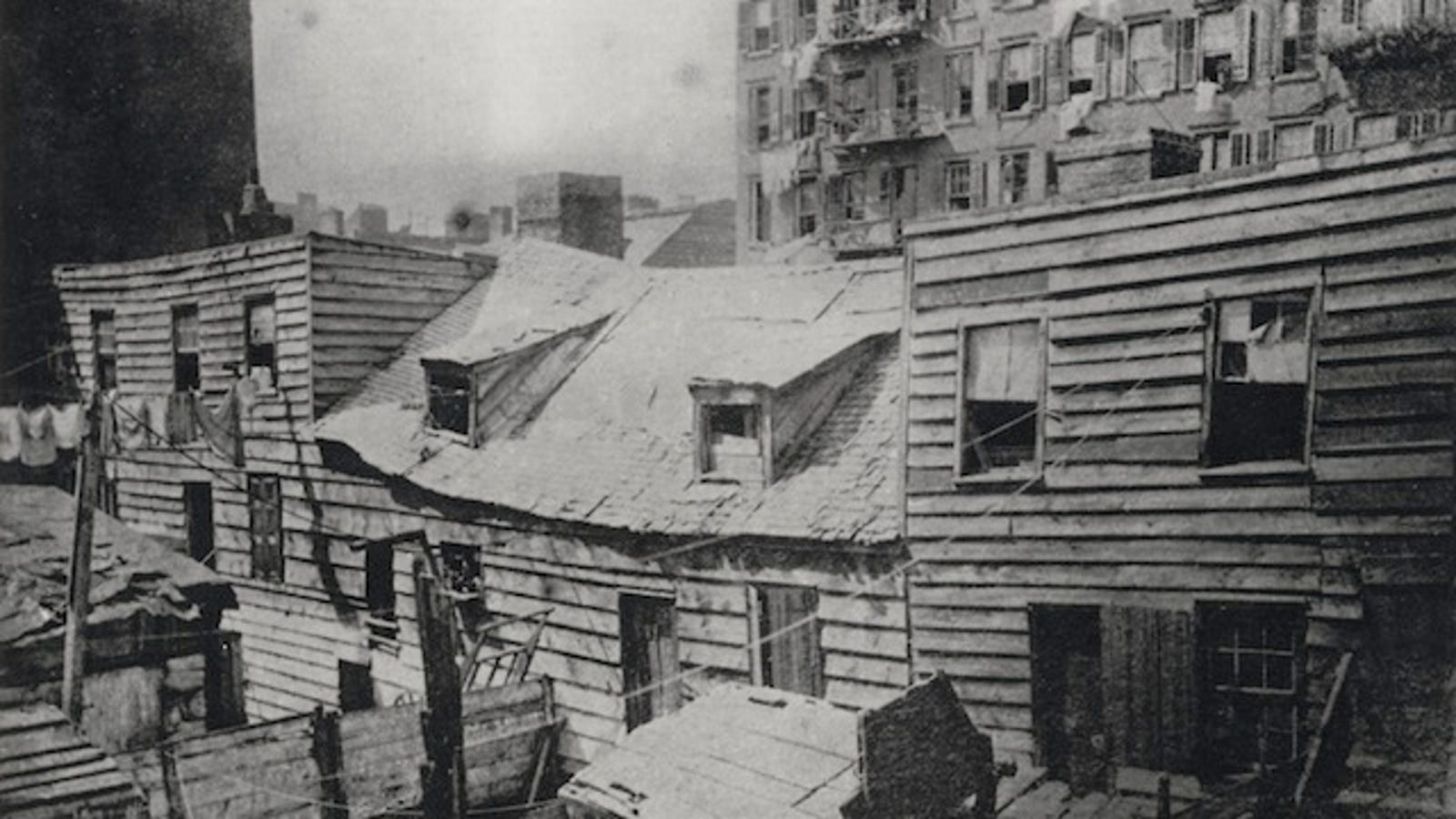 Slum Life In New York City During The Nineteenth Century S