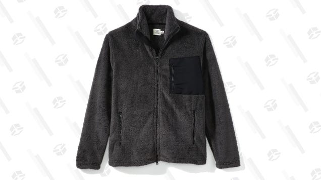 You ll Want to Wear FNT s Sherpa Zip Jacket All Winter Long