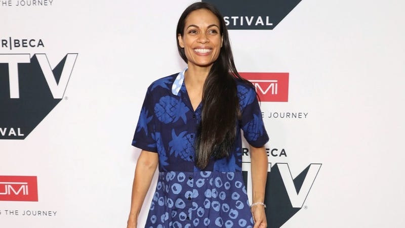 Rosario Dawson attends Tribeca TV Festival's Tribeca Talks on September 22, 2018 in New York City.