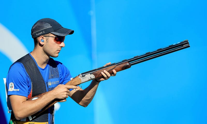Olympic skeet shooter Gabriele Rossetti (Photo: Sam Greenwood/Getty Images)