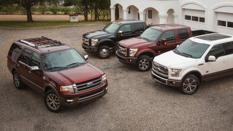 Old King Ranch Expedition Pictured. Photo: Ford