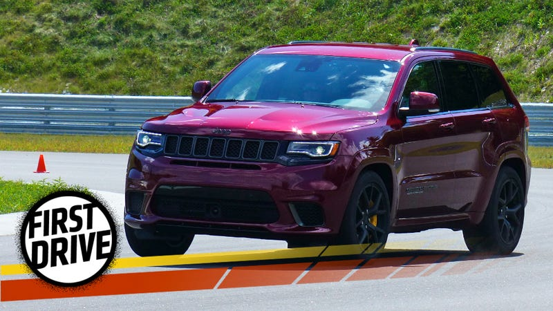 2018 jeep 707 hp. Interesting 2018 The 707 Horsepower 2018 Jeep Trackhawk Is Americau0027s Most Practical Supercar Throughout Jeep Hp E