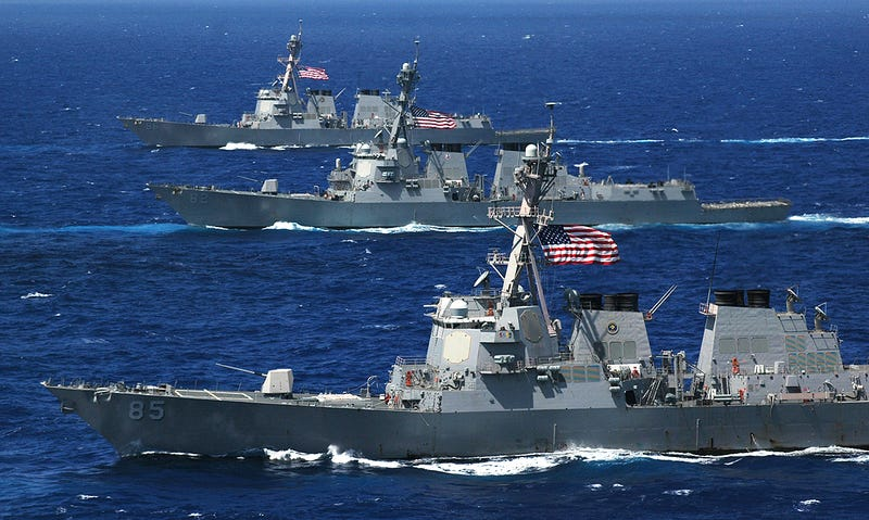 Illustration for article titled Hybrid Electric Drives and SeaRAM Coming Soon To Some U.S. Navy Destroyers