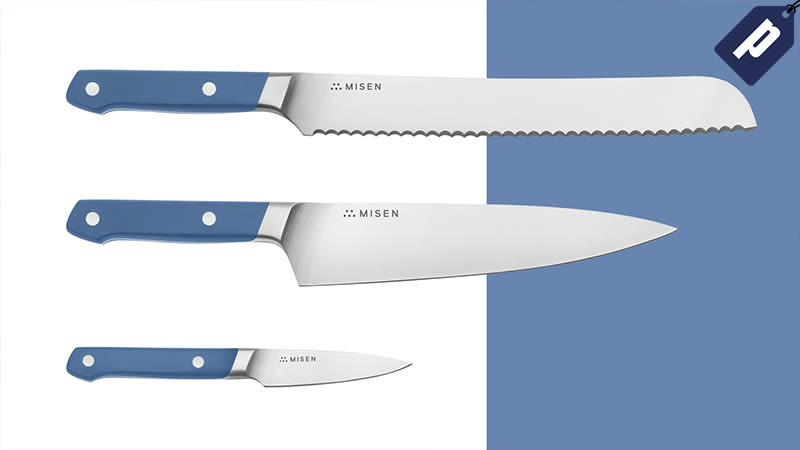 Illustration for article titled Save 15% On Misen's New Essentials Knife Set, Your Go-To Kitchen Hardware