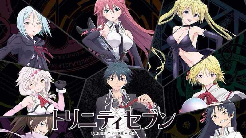 Illustration for article titled Here it is the new trailer of the Trinity Seven Movie