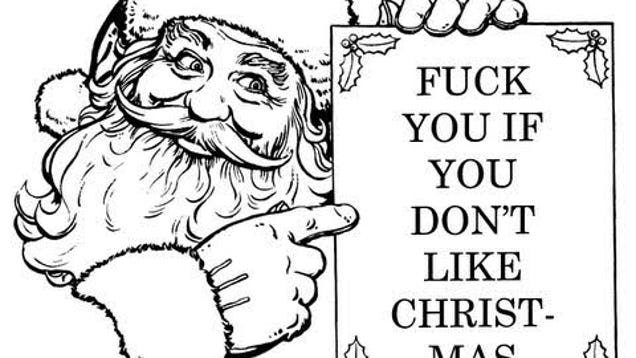 CRUDBUMP: Eff You If You Don't Like Christmas (NSFW, obviously)