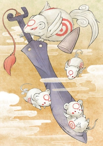 Illustration for article titled Okamiden Is The DS Game We Expected