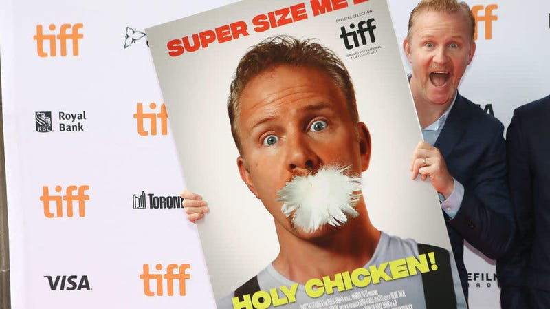 Morgan Spurlock super sizes new movie into chicken restaurant