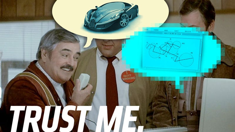 Illustration for article titled Why The Bugatti Veyron Successor Should Use Transparent Aluminum