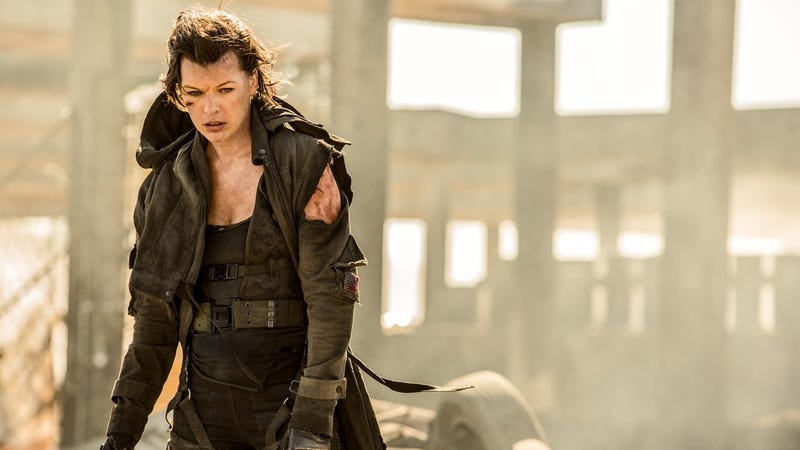 Milla Jovovich in Resident Evil: The Final Chapter. Image: Sony