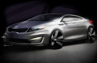 Illustration for article titled Next Kia Optima Headed For New York