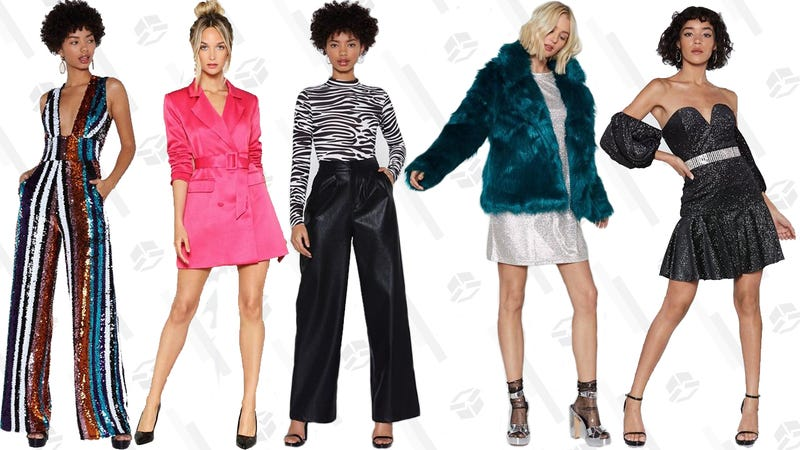 60% off sitewide at Nasty Gal