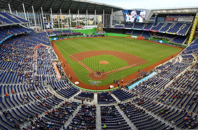 Photos Marlins Park Is Satisfyingly Empty
