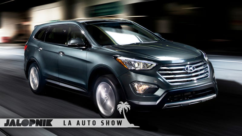 Illustration for article titled 2013 Hyundai Santa Fe: Room Enough For Seven