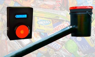 Illustration for article titled Build an Automated Halloween Candy Dispenser