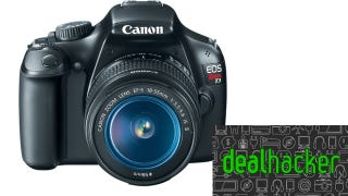 Illustration for article titled Today's Deals: Canon EOS T3, Flash Storage, Logitech Wireless Mouse