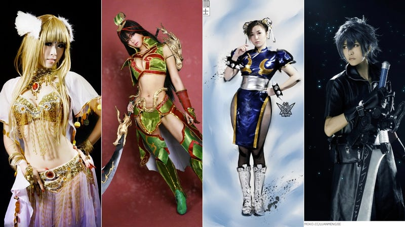 Illustration for article titled Let China Show You How to Chun-Li and Final Fantasy