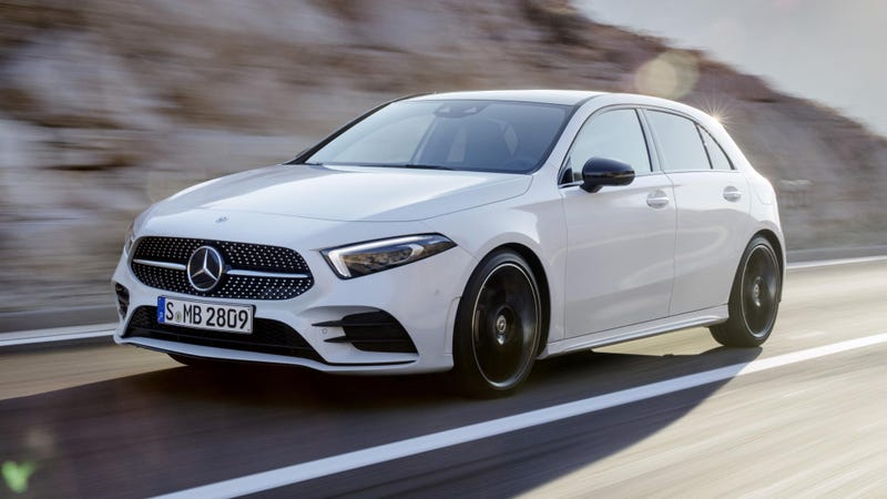 Illustration for article titled The 2019 Mercedes-Benz A-Class Looks Like It's Upped Its Game