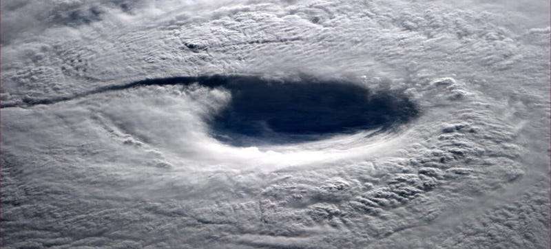 Illustration for article titled Japan's Super Typhoon Neoguri Looks Terrifying From Space