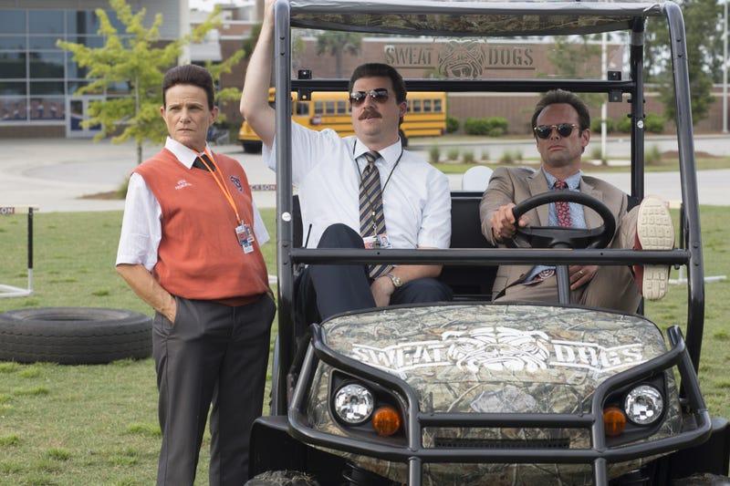 Dale Dickey, Danny McBride, Walton Goggins (Photo: Fred Norris/HBO)