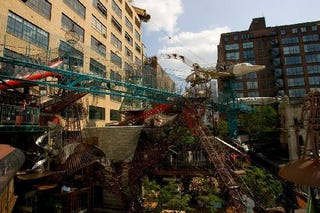 Illustration for article titled The City Museum: a Terry Gilliam-esque adventure playground in the heart of St. Louis