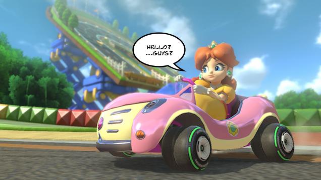 Wii Mario Kart iso birdo And Toadette
