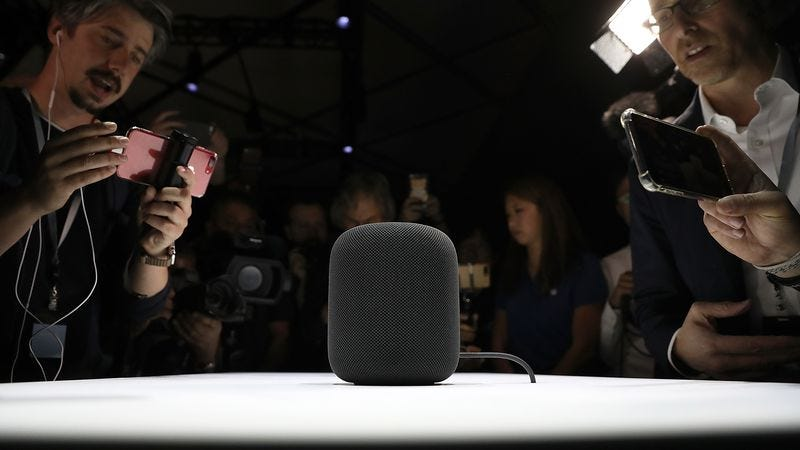That right there? That's on'a them Homepods. (Photo: Justin Sullivan / Getty Images)