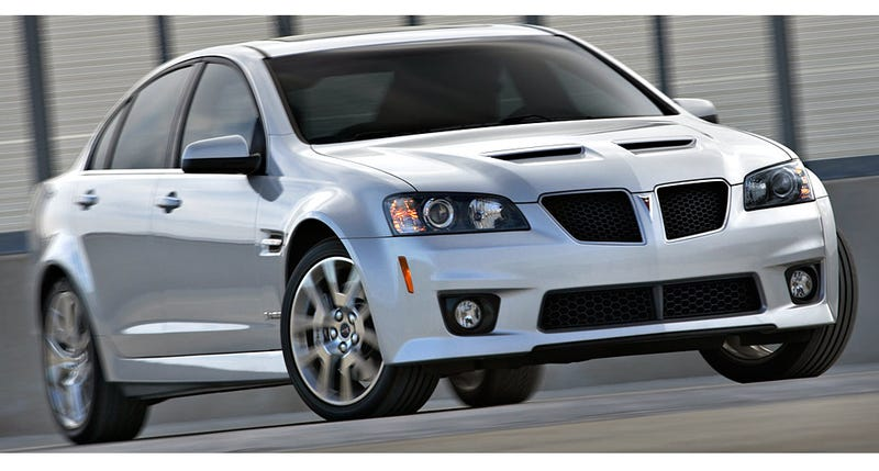Illustration for article titled The Very, Very Last Pontiac G8 GXP