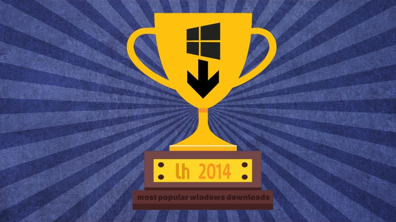 Illustration for article titled Most Popular Windows Downloads and Posts of 2014