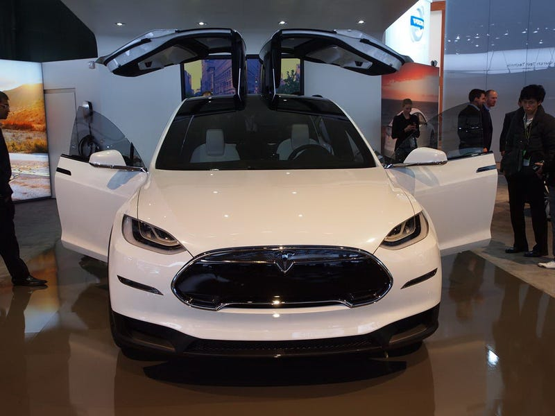 Tesla Gets Patent For Piece Gull Wing Doors