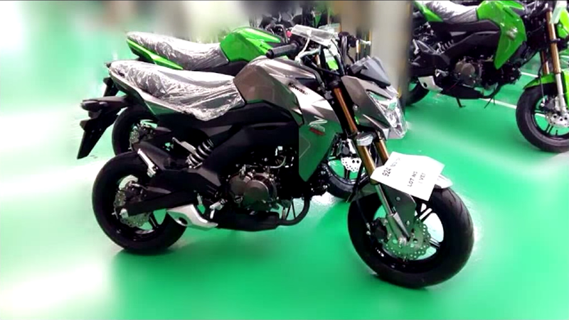 Illustration for article titled Whoa Mama, Kawasaki Has A Grom Competitor Coming