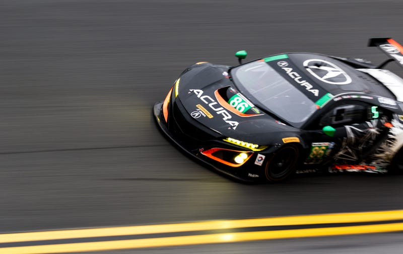 the first race of the acura nsx gt3 was unbelievably good