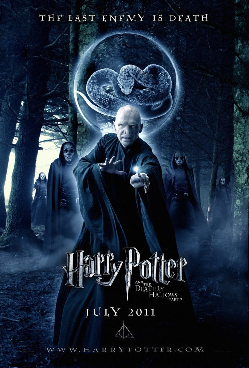 Illustration for article titled Harry Potter and the Deathly Hallows part 2 posters