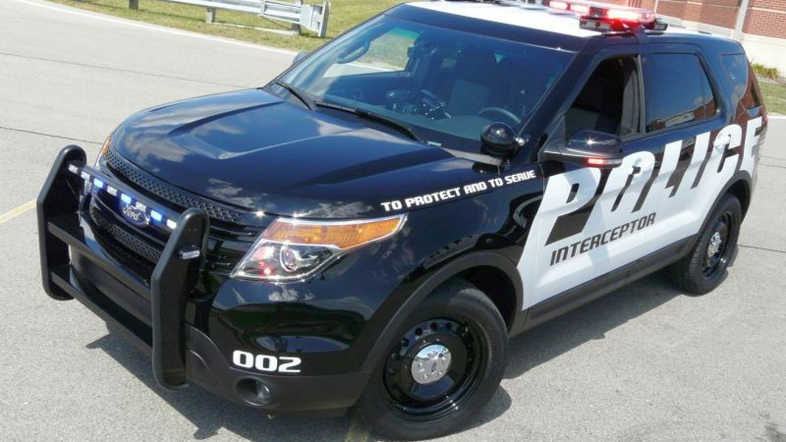 Ford Police Interceptor Utility Not Just For Robocop S Mom