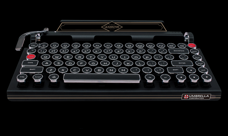 Illustration for article titled Official Resident Evil 2 Remake Keyboard Costs Only $675
