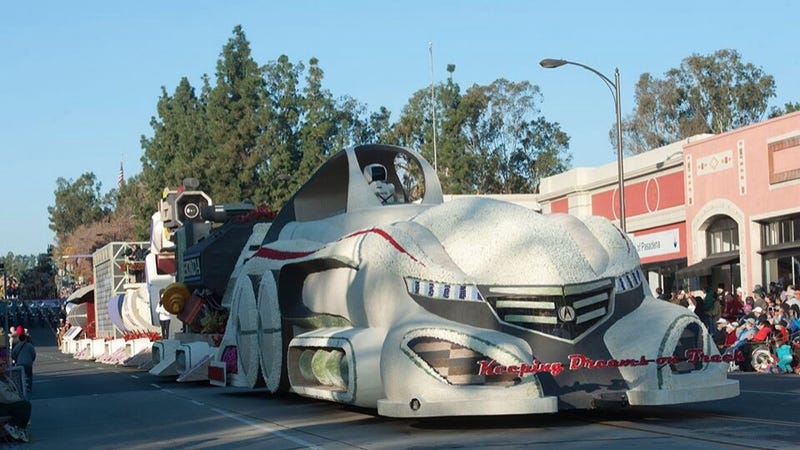 Illustration for article titled Acura Unveils New Concept at the Tournament of Roses Parade