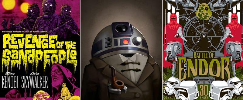 Illustration for article titled Los mejores carteles de Star Wars están en esta exposición