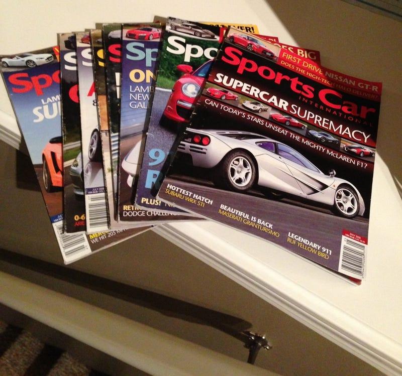 Car magazines that I miss