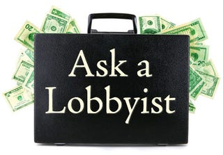 Illustration for article titled Meet Anonymous Lobbyist, Your Substitute Hardened Cynic For The Next Two Weeks