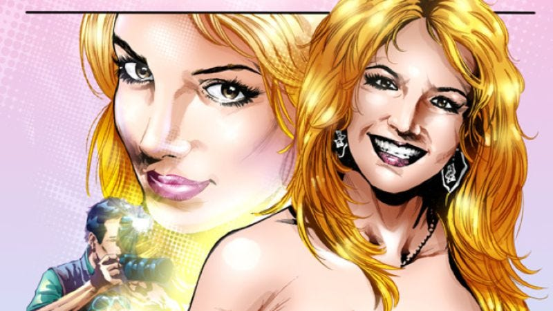Illustration for article titled The complexity that is Britney Spears to be condensed into comic-book form