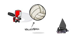 Illustration for article titled Castle Crashers Adds Xtreme Volleyball Action To PSN Port