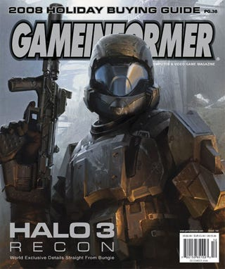 Illustration for article titled Halo 3: Recon Exposed In New Game Informer