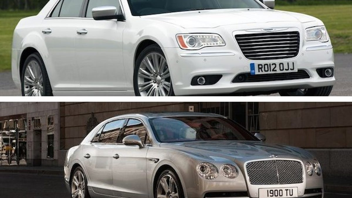 Chrysler 300 looks like a bentley
