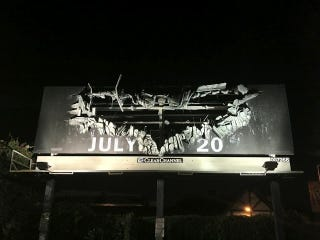 Illustration for article titled The Dark Knight Rises Posters and Billboards