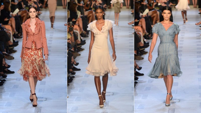 Illustration for article titled Naomi Campbell Was the Surprise Guest on the Runway at the Pretty Pretty Zac Posen Show