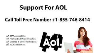 Illustration for article titled AOL Support Number 1-855-746-8414