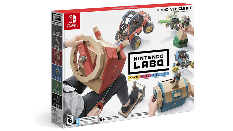 Illustration for article titled Should You Get Your Kid the Nintendo Labo Vehicle Kit?