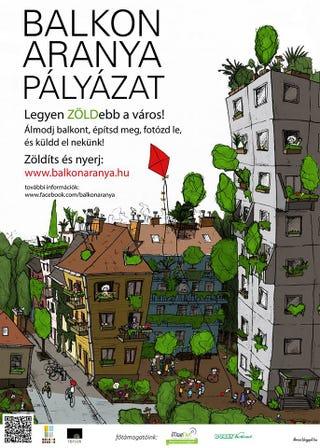 Illustration for article titled Mutasd meg a balkonod és megmondom ki vagy! - pályázat a BCE-n