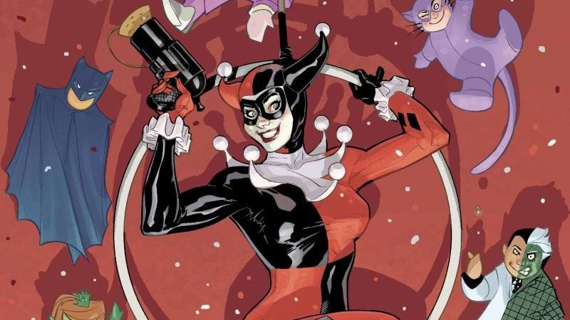 (Image: DC Comics; variant by Terry and Rachel Dodson)